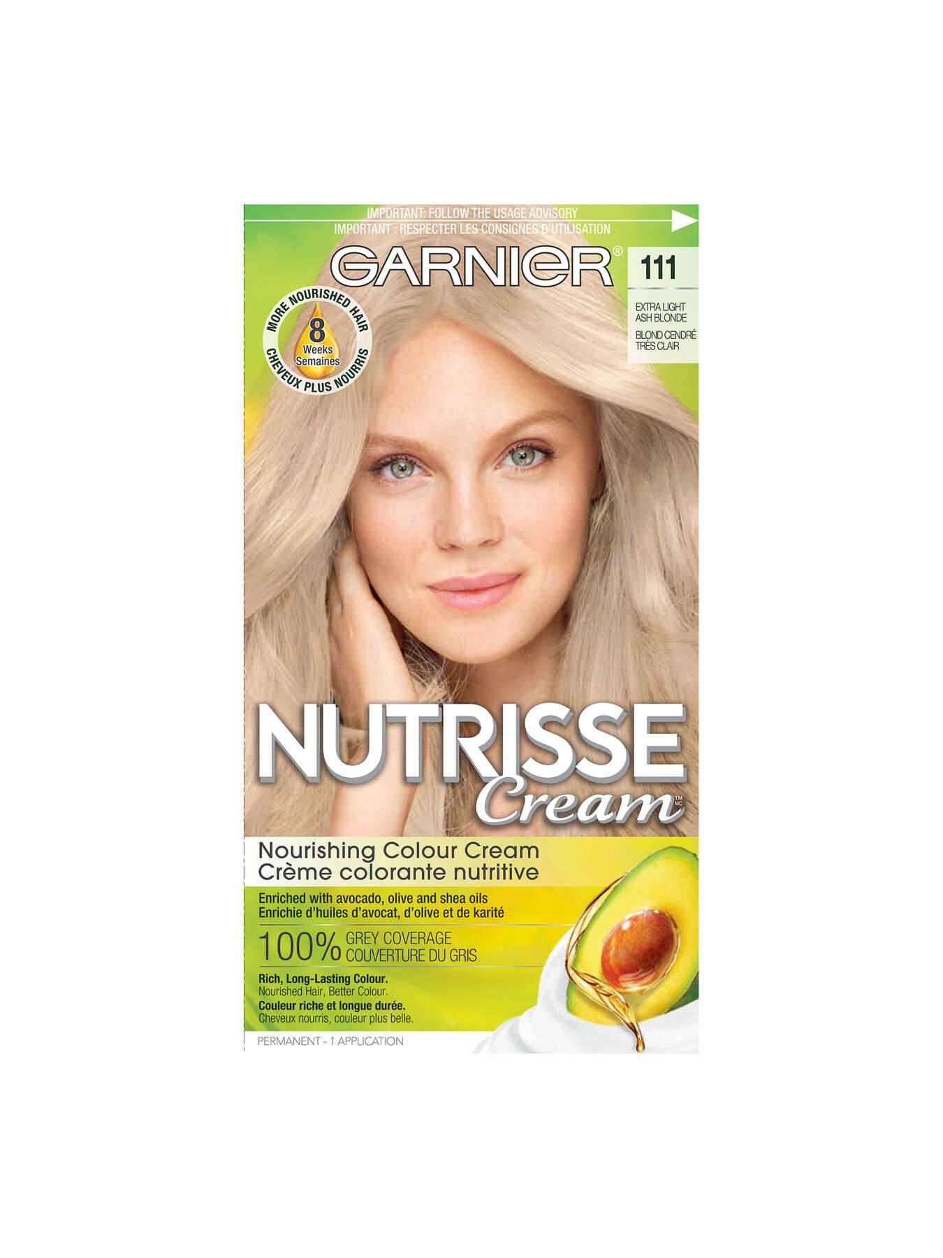 111 Very Light Ash Blonde Garnier Nutrisse
